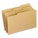 Pendaflex PFXRK15313 Two-Ply Dark Kraft File Folders, 1/3 Cut Top Tab, Legal, Brown, 100/box