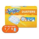 Swiffer PGC11804KT Dusters Starter Kit, Dust Lock Fiber, 6