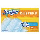 Swiffer 21459 Refill Dusters, Dust Lock Fiber, Light Blue, Unscented, 10/Box, 4 Box/Carton