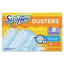 Swiffer 21461 Refill Dusters, DustLock Fiber, Light Blue, Lavender Vanilla Scent, 10/Bx, 4Bx/Ctn
