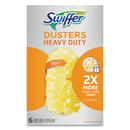 Swiffer 21620BX Heavy Duty Dusters Refill, Dust Lock Fiber, Yellow, 6/Box