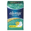 Always 30656PK Ultra Thin Pads, Regular, 36/Pack