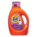 Tide PGC87566CT Plus Febreze Liquid Laundry Detergent, Spring & Renewal, 92oz Bottle, 4/carton