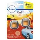 Febreze 94734 CAR Air Freshener, Hawaiian Aloha, 2 ml Clip, 2/Pack, 8 Packs/Carton