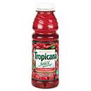 Tropicana QKR00864 Juice Beverage, Cranberry, 15.2oz Bottle, 12/carton