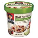 Quaker QKR15504 Real Medleys Oatmeal, Apple Walnut Oatmeal+, 2.64oz Cup, 12/carton