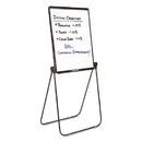 Quartet QRT101EL Ultima Presentation Easel, 27 X 34, White Surface, Black Frame