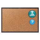 Quartet QRT2303B Classic Cork Bulletin Board, 36x24, Black Aluminum Frame