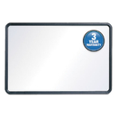 Quartet QRT7554 Contour Dry-Erase Board, Melamine, 48 X 36, White Surface, Black Frame