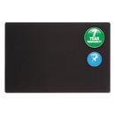 ACCO BRANDS QRT7683BK Oval Office Fabric Bulletin Board, 36 X 24, Black