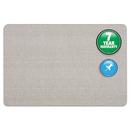 Quartet QRT7683G Oval Office Fabric Bulletin Board, 36 X 24, Gray