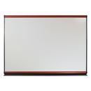 Quartet QRTMB06P2 Connectables Modular Dry-Erase Board, Porcelain/steel, 72 X 48, White, Mahogany