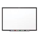 Quartet QRTS535B Classic Melamine Dry Erase Board, 60 X 36, White Surface, Black Frame