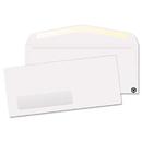 Quality Park QUA21316 Window Envelope, Contemporary, #10, White, Recycled, 500/box