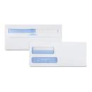 Quality Park QUA24529 Double Window Tinted Redi-Seal Check Envelope, #9, White, 500/box
