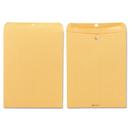 Quality Park QUA37810 Clasp Envelope, 12 X 15 1/2, 32lb, Brown Kraft, 100/box