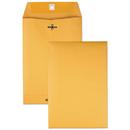Quality Park QUA37863 Clasp Envelope, 6 1/2 X 9 1/2, 28lb, Brown Kraft, 100/box