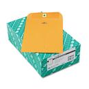 Quality Park QUA37868 Clasp Envelope, 7 X 10, 28lb, Brown Kraft, 100/box