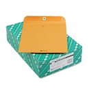 Quality Park QUA37895 Clasp Envelope, 10 X 12, 28lb, Brown Kraft, 100/box