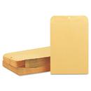 Quality Park QUA37897 Clasp Envelope, 10 X 13, 28lb, Brown Kraft, 100/box