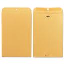 Quality Park QUA37898 Clasp Envelope, 10 X 15, 28lb, Brown Kraft, 100/box