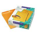 Quality Park QUA37910 Clasp Envelope, 12 X 15 1/2, 28lb, Brown Kraft, 100/box