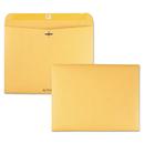 Quality Park QUA38090 Redi-File Clasp Envelope, Contemporary, 12 X 9, Brown Kraft, 100/box