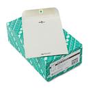 Quality Park QUA38563 Clasp Envelope, 6 1/2 X 9 1/2, 28lb, Executive Gray, 100/box