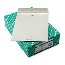 Quality Park QUA38597 Clasp Envelope, 10 X 13, 28lb, Executive Gray, 100/box