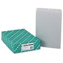 Quality Park QUA38610 Clasp Envelope, 12 X 15 1/2, 28lb, Executive Gray, 100/box