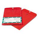 Quality Park QUA38734 Fashion Color Clasp Envelope, 9 X 12, 28lb, Red, 10/pack
