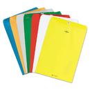 Quality Park QUA38736 Fashion Color Clasp Envelope, 9 X 12, 28lb, Yellow, 10/pack