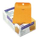 Quality Park QUA43055 Park Ridge Kraft Clasp Envelope, 6 X 9, Brown Kraft, 100/box