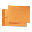 Quality Park QUA43090 Park Ridge Kraft Clasp Envelope, 9 X 12, Brown Kraft, 100/box