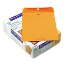 Quality Park QUA43097 Park Ridge Kraft Clasp Envelope, 10 X 13, Brown Kraft, 100/box
