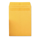 Quality Park QUA43567 Redi-Seal Catalog Envelope, 9 X 12, Brown Kraft, 100/box