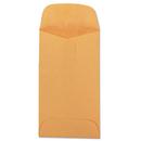 QUALITY PARK PRODUCTS QUA50260 Kraft Coin & Small Parts Envelope, Side Seam, #3, Brown Kraft, 500/box