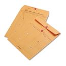 QUALITY PARK PRODUCTS QUA63561 Brown Kraft Kraft String & Button Interoffice Envelope, 10 X 13, 100/carton