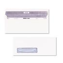 Quality Park QUA67418 Reveal-N-Seal Window Envelope, Contemporary, #10, White, 500/box