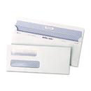 Quality Park QUA67539 Reveal-N-Seal Double Window Check Envelope, Self-Adhesive, White, 500/box