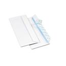 Quality Park QUA69122 Redi-Strip Security Tinted Envelope, Contemporary, #10, White, 500/box