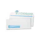 Quality Park QUA69222 Redi-Strip Security Tinted Window Envelope, Contemporary, #10, White, 500/box