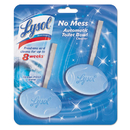 Lysol RAC83721 No Mess Automatic Toilet Bowl Cleaner, Ocean Fresh, 2/pack