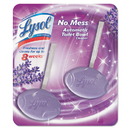 Lysol RAC83722 No Mess Automatic Toilet Bowl Cleaner, Lavender Fields , 2/pack