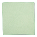 Rubbermaid 1820582 Microfiber Cleaning Cloths, 16 X 16, Green, 24/Pack