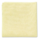 Rubbermaid RCP1820584 Microfiber Cleaning Cloths, 16 X 16, Yellow, 24/pack