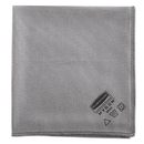 Rubbermaid 1867398 Executive Glass Microfiber Cloths, Gray, 16 x 16, 12/Pack