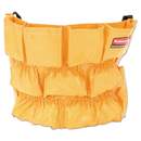 Rubbermaid RCP264200YW Brute Caddy Bag, 12 Pockets, Yellow