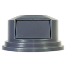 Rubbermaid RCP265788GY Round Brute Dome Top Lid For 55gal Waste Containers, 27 1/4