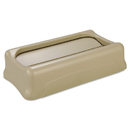 Rubbermaid FG267360BEIG Slim Jim Swing Lid, 11 3/8w x 20 1/2d x 5h, Beige